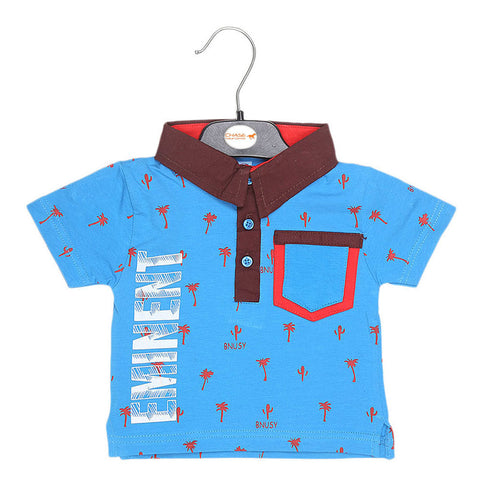 Eminent Newborn Boys T-Shirt - Blue - test-store-for-chase-value