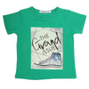 Boys Half Sleeves T-Shirt - Dark Green