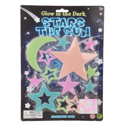 Glowing Stars 11 Pcs - Multi