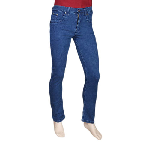 Men's Slim Fit Jeans Pant - Dark Blue