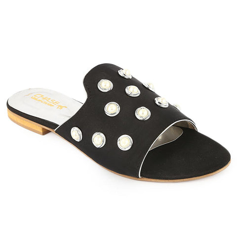 Women's Slipper - Black (E 248)