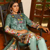 Majestic Floral Digital Printed & Embroidered Lawn 3 Pcs Un-Stitched Suit  EKR2219