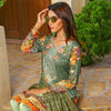 Majestic Floral Digital Printed & Embroidered Lawn 3 Pcs Un-Stitched Suit  EKR2241