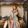 Majestic Floral Digital Printed & Embroidered Lawn 3 Pcs Un-Stitched Suit  EKR2255