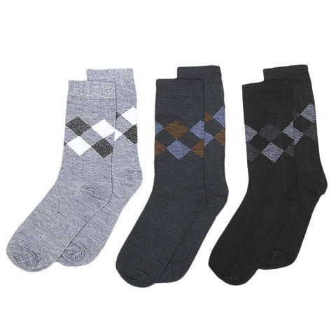 Men's Socks Pack Of 3 - Multi