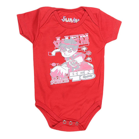 Newborn Girls Romper - Red - test-store-for-chase-value
