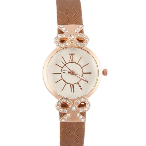 Women's Wrist Watch - Brown