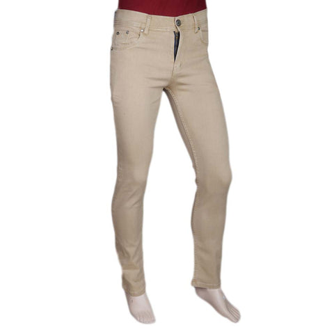 Men's Slim Fit Jeans Pant - Fawn