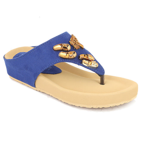 Girls Slipper (G-551) - Blue