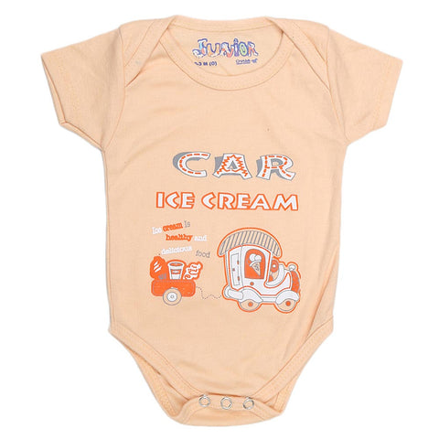 Newborn Girls Romper - Fawn - test-store-for-chase-value