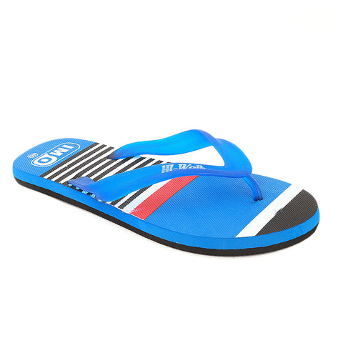 Men's Slippers  - Royal Blue