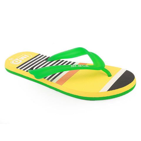 Men's Slippers  - Yellow