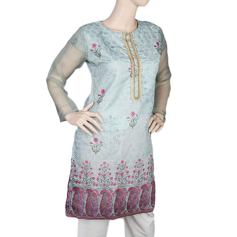Women's Fancy kurti - Sea Green
