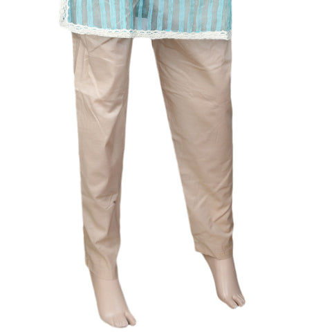 Women's Basic Trouser - Fawn