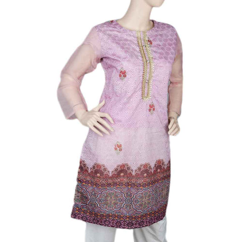 Women's Fancy kurti - L/Purple