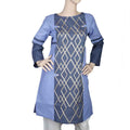 Women's Embroidered Kurti - Blue