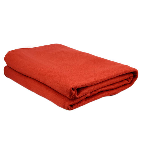 Chase Value Centre Fleece Blanket - Rust