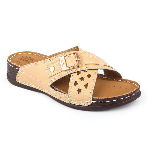 Women's Softy Slipper ( S1 ) - Fawn - test-store-for-chase-value