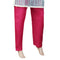 Women's Basic Trouser -  Dark Pink