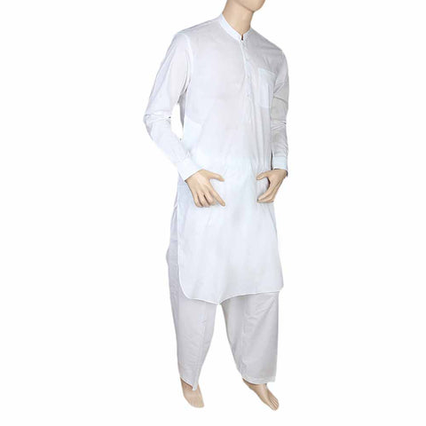 Eminent Shalwar Suit For Men - White