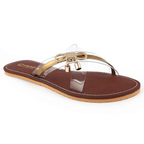 Women's Slipper (05) - Brown