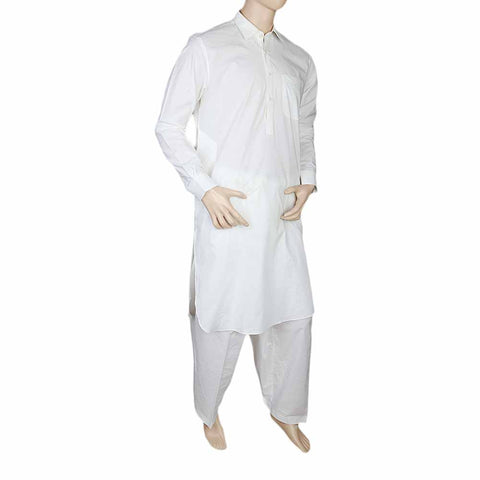 Eminent Shalwar Suit For Men - Off White