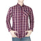 Eminent Slim Fit Check Shirt For Men - Maroon