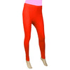 "Women's Plain Tights 48"" - Red"
