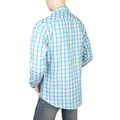 Eminent Slim Fit Check Shirt For Men - Green