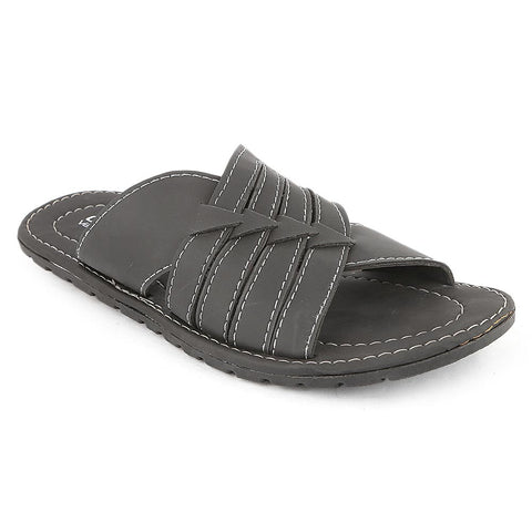 Men's Slippers (760) - Black