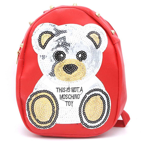 Girls Backpack (7572-A) Red