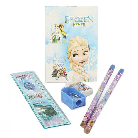 Frozen Stationery Set 5 Pcs - Blue
