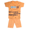 Boys Half Sleeves Suit - Peach
