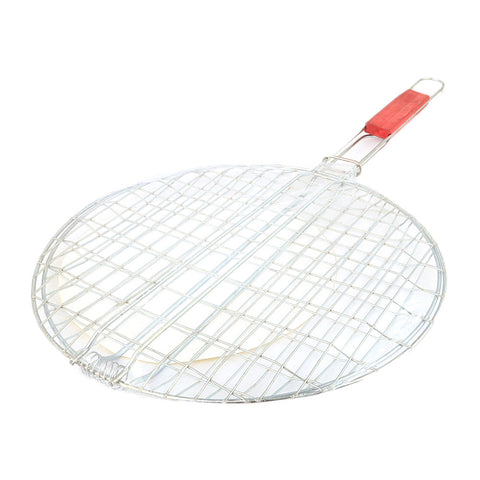 BBQ Grill Round Shape - Silver - test-store-for-chase-value