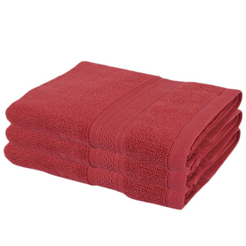 Face Towel - Maroon - test-store-for-chase-value