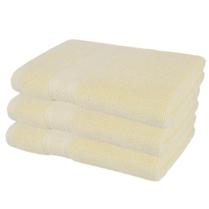 Bath Towel - Light Yellow - test-store-for-chase-value