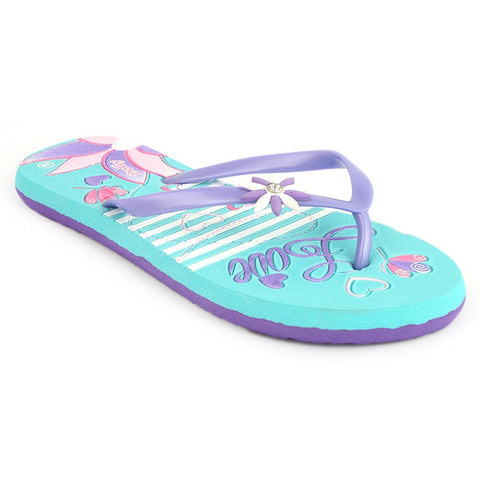Women's Dolly Slipper (820-6) - Cyan