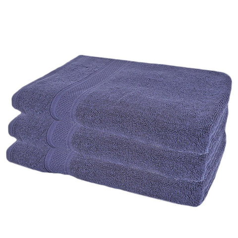 Bath Towel - Dark Blue - test-store-for-chase-value