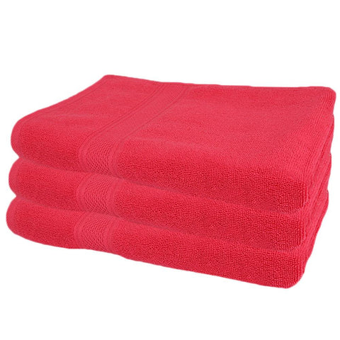 Bath Towel - Red - test-store-for-chase-value