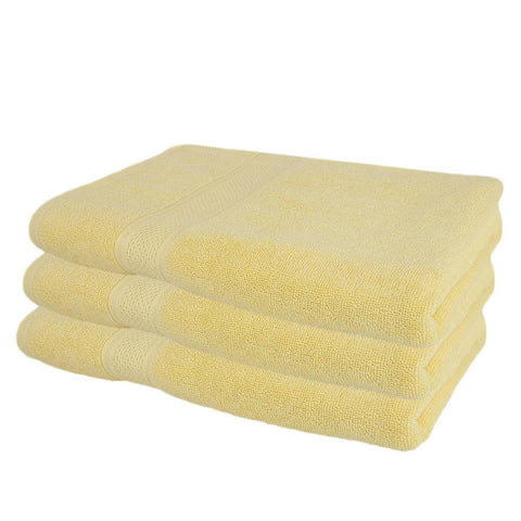 Face Towel - Yellow - test-store-for-chase-value