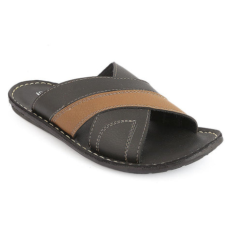 Men's Slippers (1002) - Black
