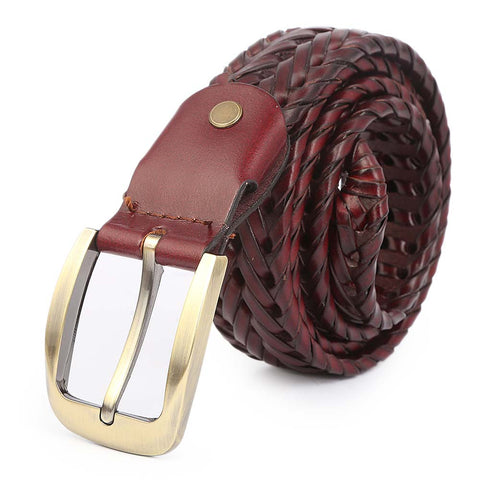 Men's Belt - Coffee