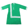 Girls Lace Khaddar Kurti - Green