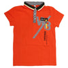 Boys Half Sleeves Polo T-Shirt - Orange
