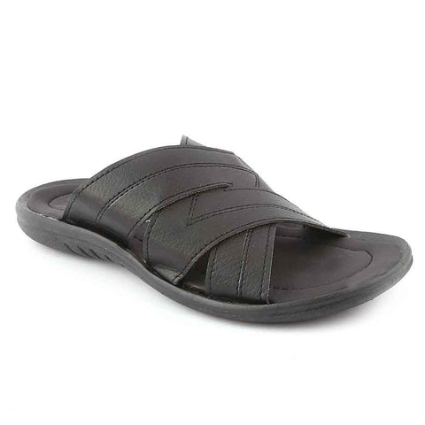 Men's Slippers (R-18) - Black
