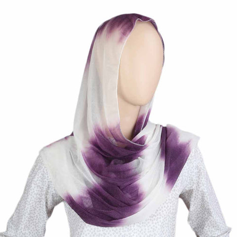 Women's Crinkle Scarf - Purple