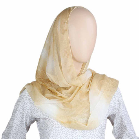 Women's Crinkle Scarf - Golden
