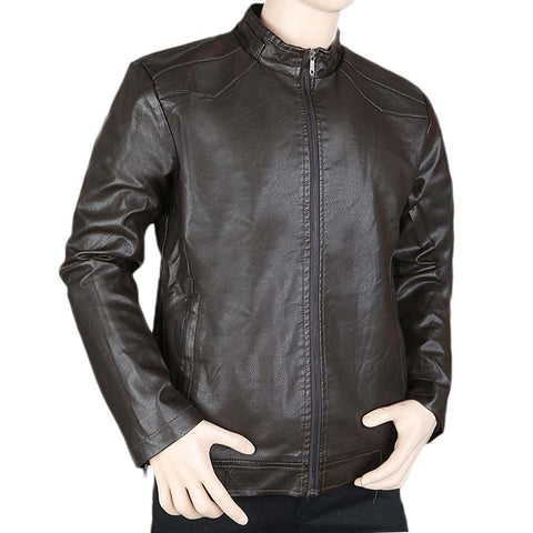 Men's Jacket (K-62) - Coffee