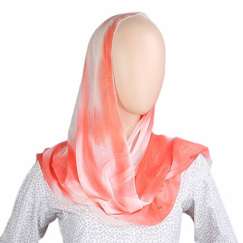 Women's Crinkle Scarf - Red