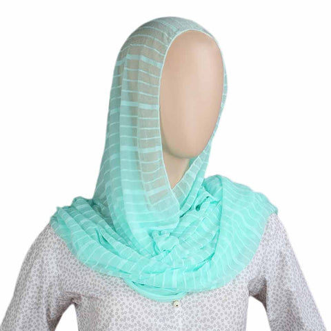 Women's Crinkle Scarf - See Green